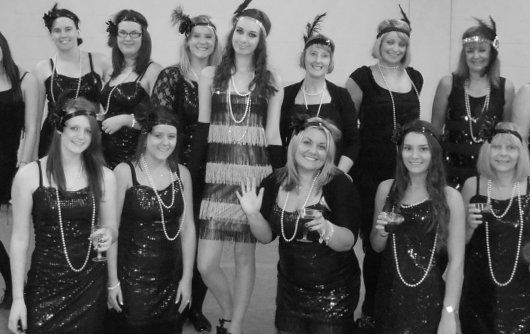 Book A Burlesque Hen Party Charleston Dress 5u84f48n