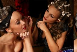 pin up make over hen party
