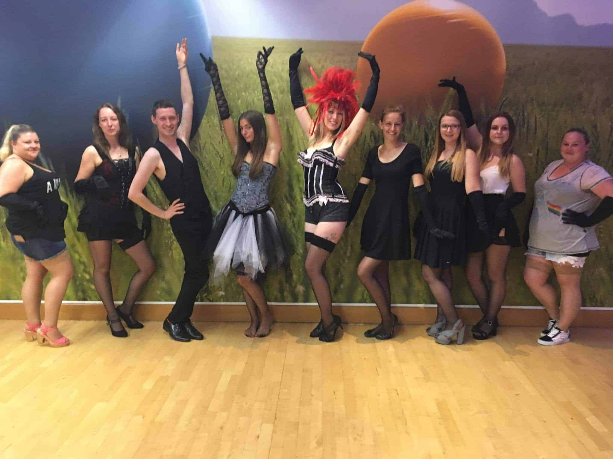 Hen party burlesque parties