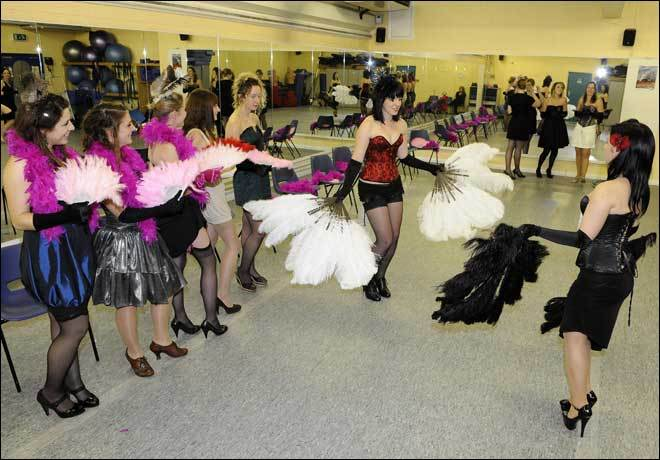 learn burlesque London