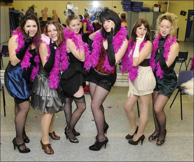 Burlesque baby hen parties